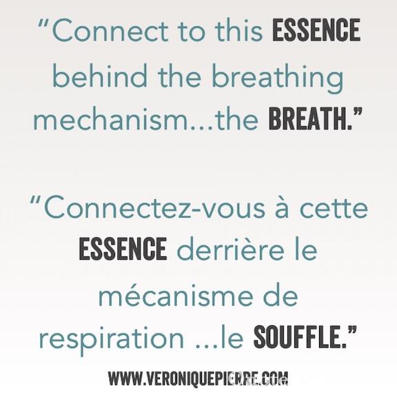 La respiration vs le souffle / Breathing vs Breath