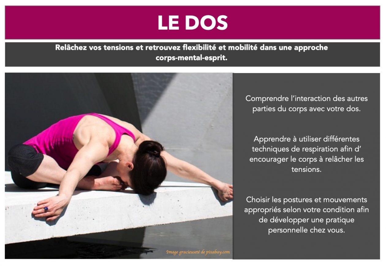 MASTERCLASS sur le DOS – Asha Yoga – Laval