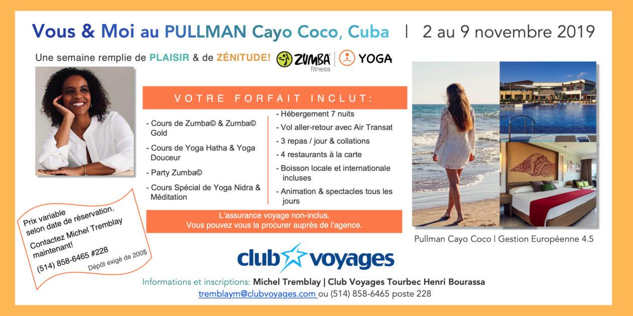 Voyage Bien-Être Zumba Gold / Yoga Douceur