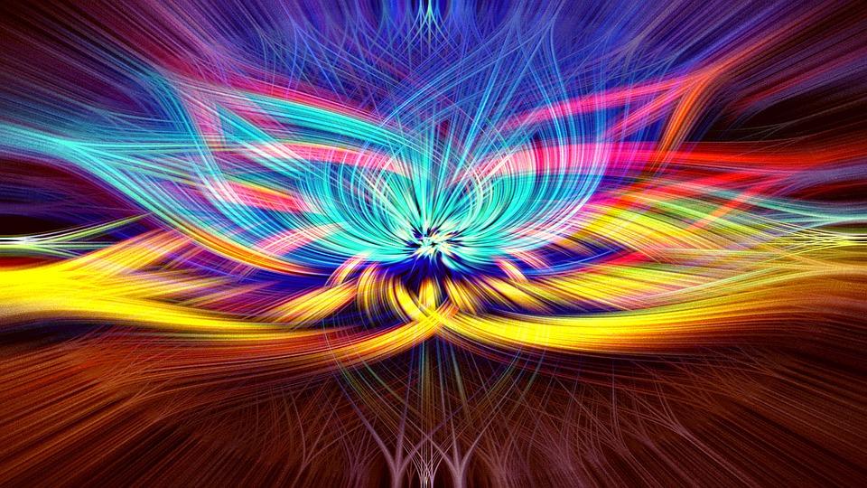 Les chakras et leurs couleurs / Chakras and their colors