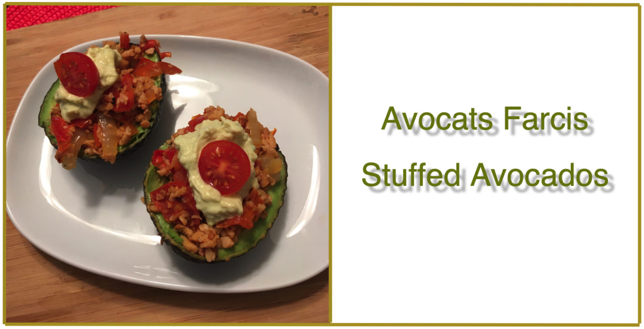 Avocats farcis | Stuffed Avocados