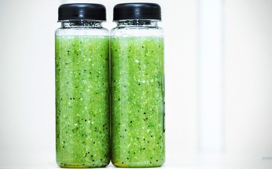 Smoothie vert protéiné   Protein Green Smoothie